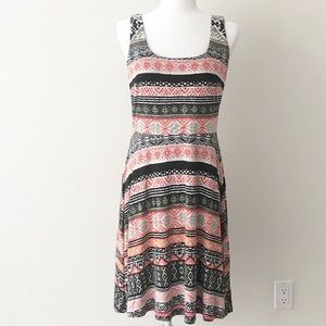 Ann Taylor LOFT   Printed Flare Dress *NWT*